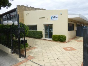 WRM office in Burswood
